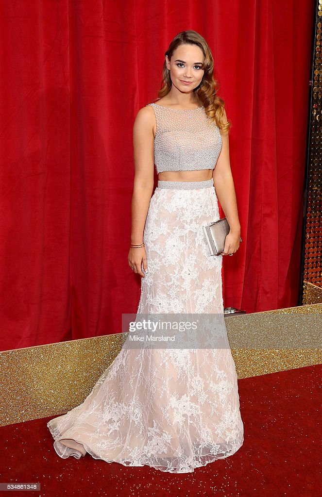 Daisy Wood-Davis attends the British Soap Awards 2016 at Hackney Empire on May 28, 2016 in London, England.