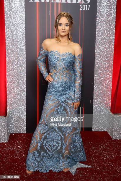 Daisy WoodDavis attends The British Soap Awards at The Lowry Theatre on June 3 2017 in Manchester England The Soap Awards will be aired on June 6 on...