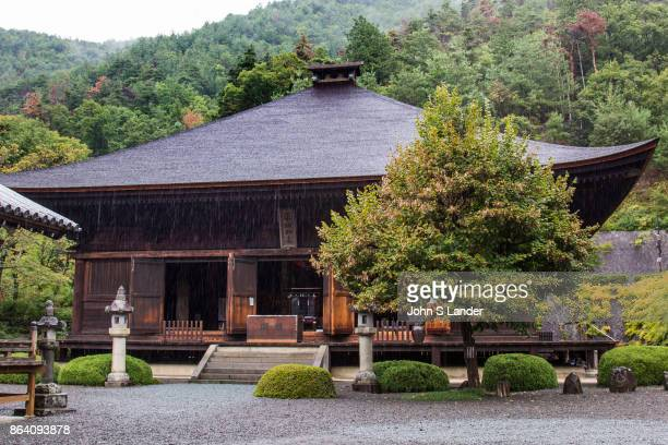 Daizenji Temple was built in Koshu by Buddhist priest Gyoki in 718 It is sometimes called the grape temple as Gyoki was met by the presence of...