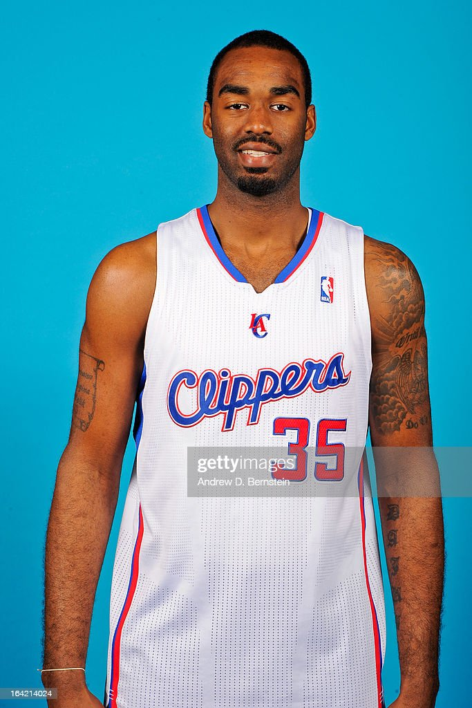 DaJuan Summers #35 of the Los Angeles Clippers poses for a portrait before a game against the Philadelphia 76ers at Staples Center on March 20, 2013 in Los Angeles, California.