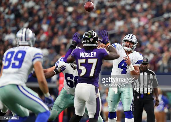 Baltimore Ravens v Dallas Cowboys : News Photo