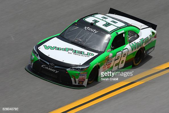 Dakoda armstrong driver of the winfield be greater toyota practices