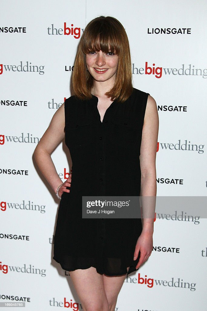 Dakota Blue Richards attends a special screening of 'The Big Wedding' at The Mayfair Hotel on May 23, 2013 in London, England.