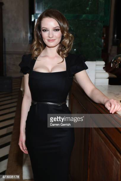 Dakota Blue Richards attends Roland Mouret's The Dinner of Love at Cecconi's a preopening dinner at The Ned on April 25 2017 in London England