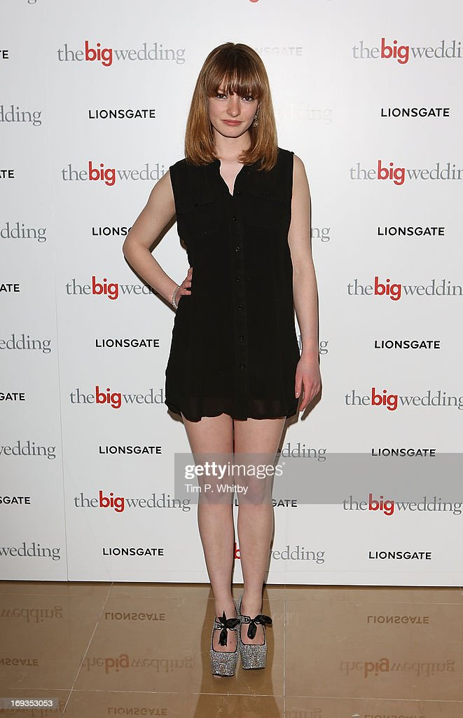 <a gi-track='captionPersonalityLinkClicked' href=/galleries/search?phrase=Dakota+Blue+Richards&family=editorial&specificpeople=4297299 ng-click='$event.stopPropagation()'>Dakota Blue Richards</a> attends Special screening of 'The Big Wedding' at May Fair Hotel on May 23, 2013 in London, England.
