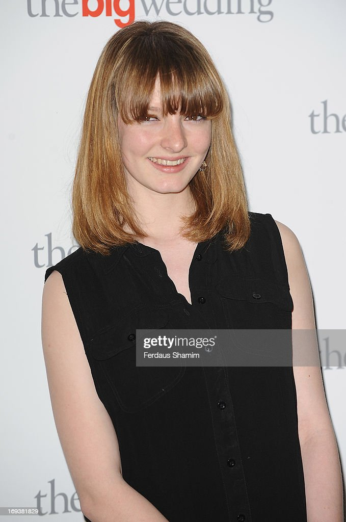Dakota Blue Richards attends Special screening of 'The Big Wedding' at May Fair Hotel on May 23, 2013 in London, England.