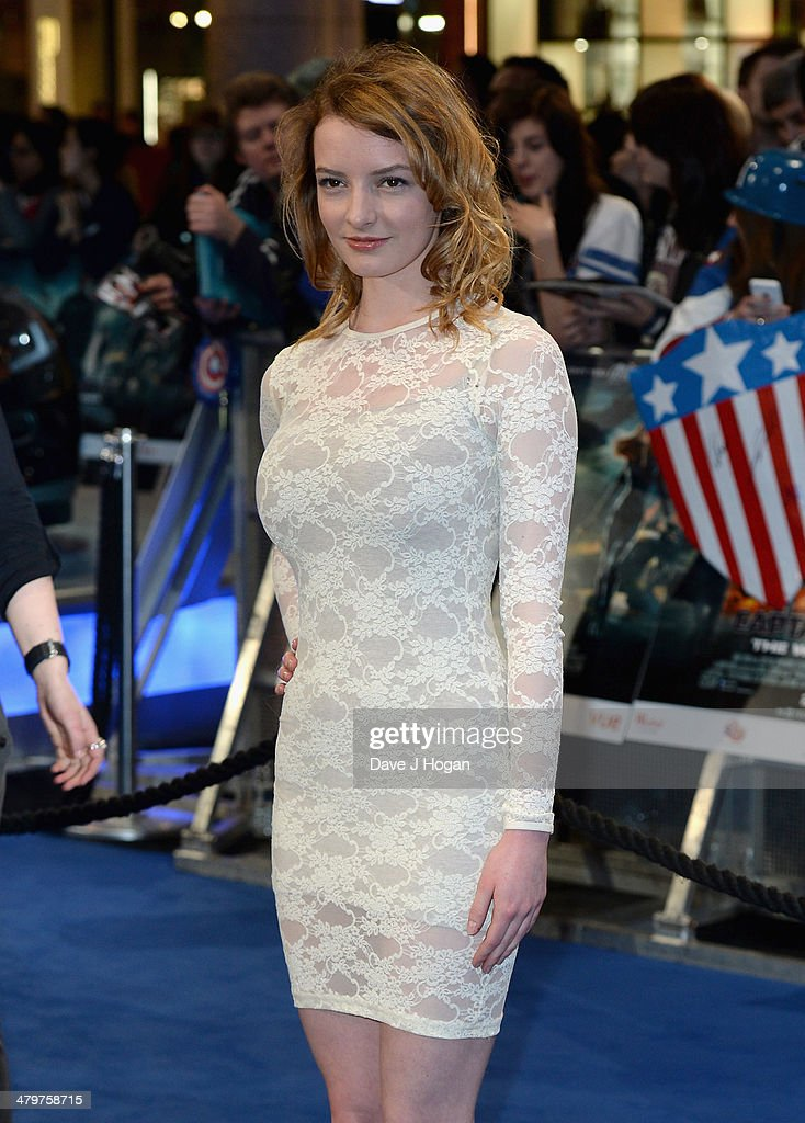 Dakota Blue Richards attends the 'Captain America: The Winter Soldier' UK film premiere at Westfield on March 20, 2014 in London, England.