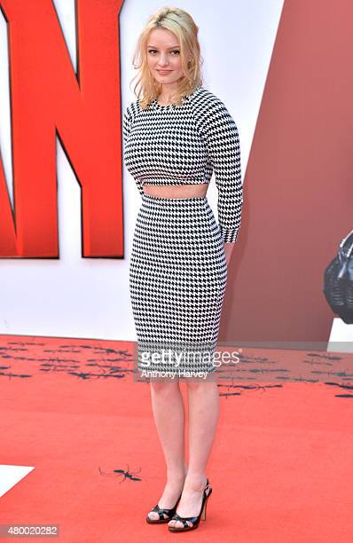 Dakota Blue Richards attends the European Premiere of Marvel's 'AntMan' at Odeon Leicester Square on July 8 2015 in London England