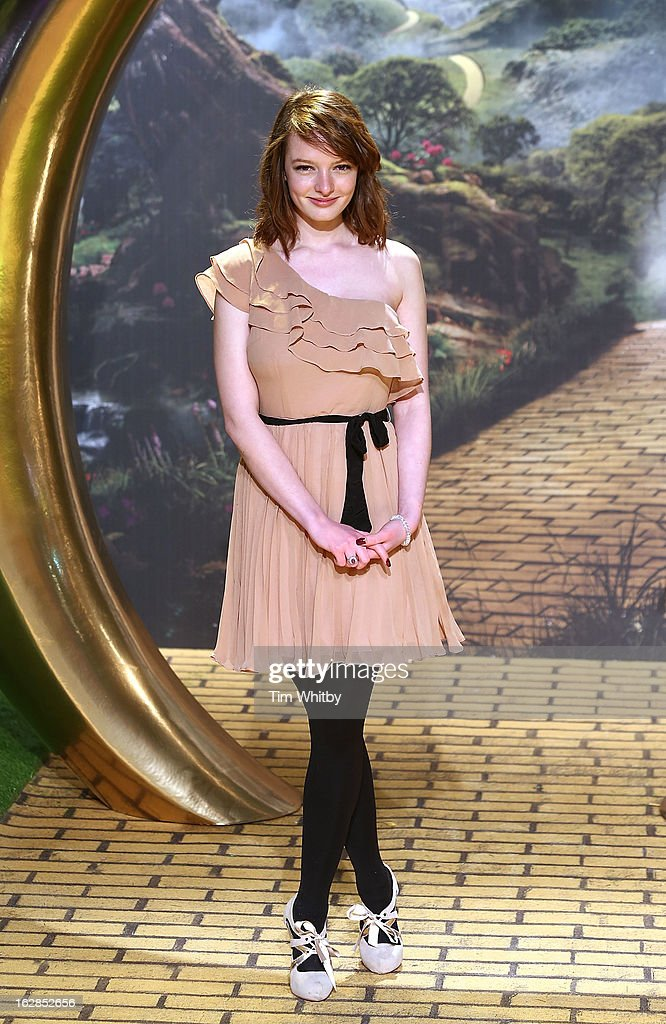 Dakota Blue Richards attends the European Premiere of 'Oz: The Great and Powerful' at Empire Leicester Square on February 28, 2013 in London, England.