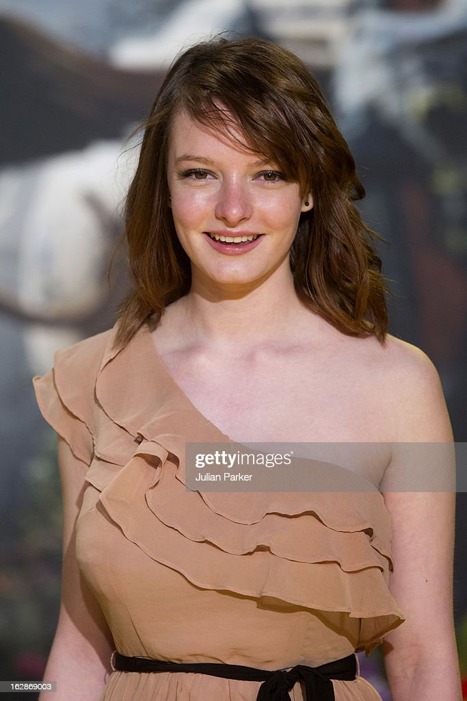 Dakota Blue Richards attends the European Premiere of 'Oz: The Great and Powerful' , at the Empire Leicester Square on February 28, 2013 in London, England.