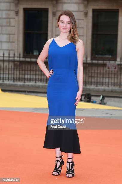 Dakota Blue Richards attends the preview party for the Royal Academy Summer Exhibition at Royal Academy of Arts on June 7 2017 in London England