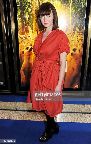 Dakota Blue Richards attends the UK Premiere of 'Life of Pi' at Empire Leicester Square on December 3 2012 in London England