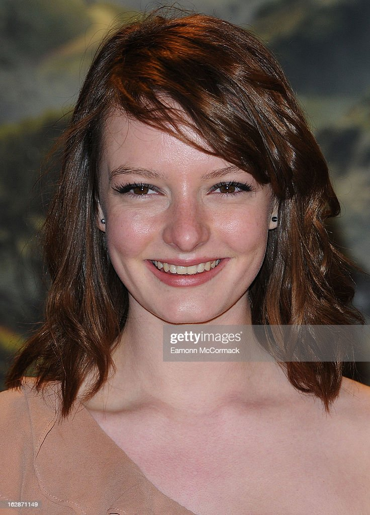 Dakota Blue Richards attends the UK Premiere of 'Oz: The Great and Powerful' at Empire Leicester Square on February 28, 2013 in London, England.