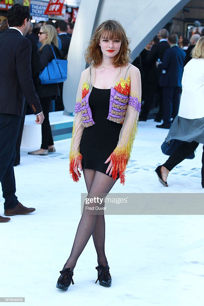 <a gi-track='captionPersonalityLinkClicked' href=/galleries/search?phrase=Dakota+Blue+Richards&family=editorial&specificpeople=4297299 ng-click='$event.stopPropagation()'>Dakota Blue Richards</a> attends the UK Premiere of 'Star Trek Into Darkness' at The Empire Cinema on May 2, 2013 in London, England.