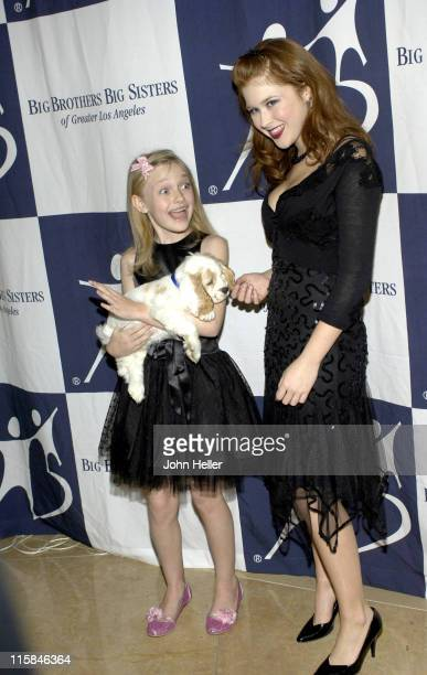 Dakota Fanning and Renee Olstead during Big Brothers Big Sisters Of Greater Los Angeles To Honor Top Entertainment Industry Talent At Rising Stars...