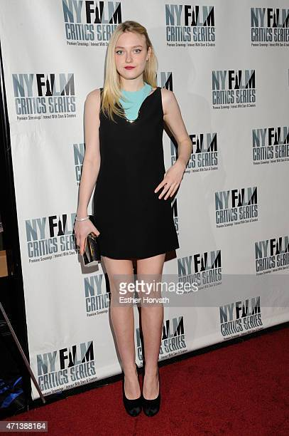 Dakota Fanning attends New York Film Critic Series premiere Of 'Every Secret Thing' at AMC Empire 25 theater on April 27 2015 in New York City