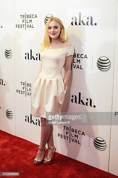 Dakota Fanning attends the premiere of 'Franny' during the 2015 Tribeca Film Festival at BMCC Tribeca PAC on April 17 2015 in New York City
