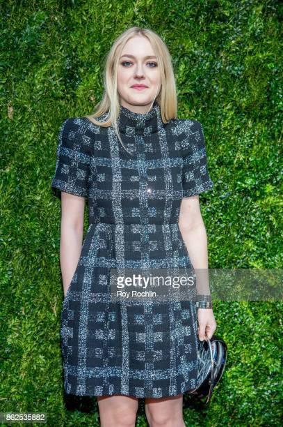 Dakota Fanning attends Through Her Lens The Tribeca Chanel Women's Filmmaker Program Luncheon at Locanda Verde on October 17 2017 in New York City