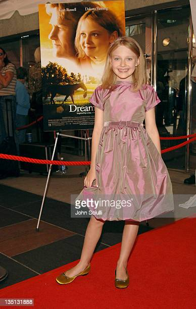 Dakota Fanning during 2005 Toronto Film Festival 'Dreamer' Premiere at Roy Thompson Hall in Toronto Canada