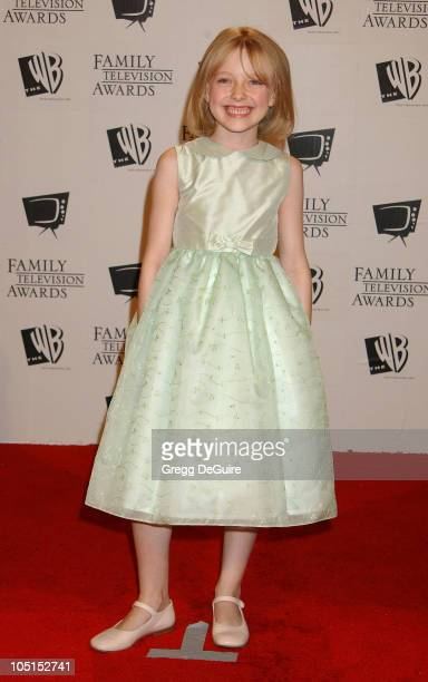 Dakota Fanning during '5th Annual Family Television Awards' at Beverly Hilton Hotel in Beverly Hills California United States