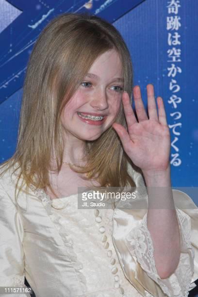 Dakota Fanning during 'Charlotte's Web' Tokyo Premiere Red Carpet at Tokyo International Forum in Tokyo Japan