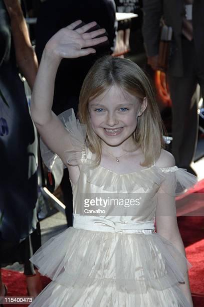 Dakota Fanning during 'War of the Worlds' New York City Premiere Arrivals at Ziegfield Theater in New York City New York United States
