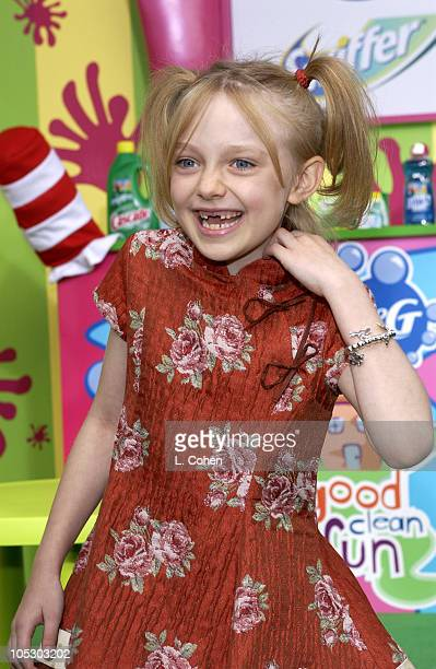 Dakota Fanning during World Premiere of 'Cat In The Hat' Sponsored in Part by Proctor Gamble at Universal Studios Cinema in Universal City California...