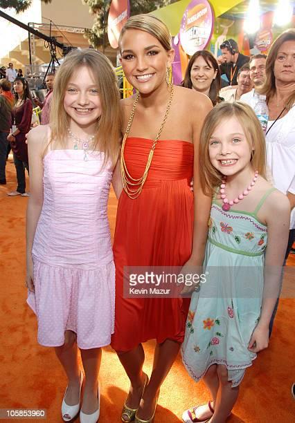 Dakota Fanning Jamie Lynn Spears and Elle Fanning