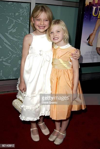Dakota Fanning Sister Elle Fanning