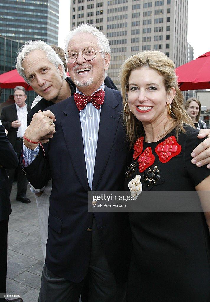HBA Interior Design Party At Peninsula Hotel NYC Dakota Jackson CEO Of Michael Bedner Cynthia Tripp Kampf Attend The
