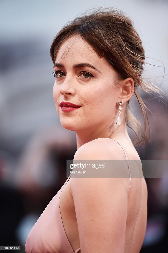 Dakota Johnson attends a premiere for 'Black Mass' during the 72nd Venice Film Festival at on September 4, 2015 in Venice, Italy.