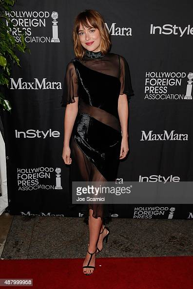 Dakota Johnson attends HFPA/InStyle's Annual TIFF Celebration at Windsor Arms Hotel on September 12 2015 in Toronto Canada