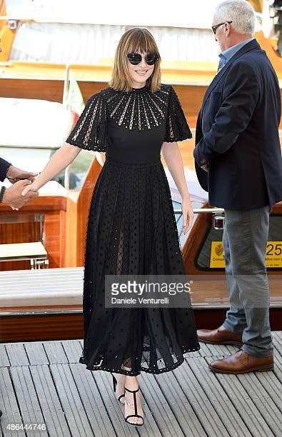 Dakota Johnson attends the 'Black Mass' photocall during the 72nd Venice Film Festival on September 4 2015 in Venice Italy