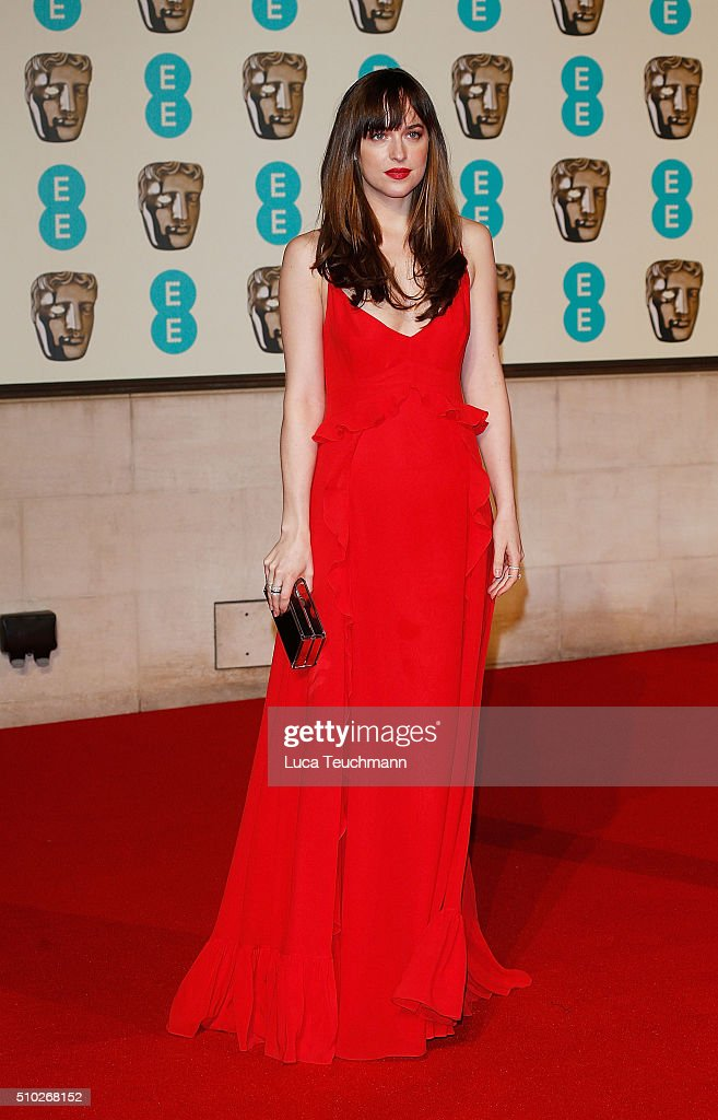 <a gi-track='captionPersonalityLinkClicked' href=/galleries/search?phrase=Dakota+Johnson&family=editorial&specificpeople=2091563 ng-click='$event.stopPropagation()'>Dakota Johnson</a> attends the official After Party Dinner for the EE British Academy Film Awards at The Grosvenor House Hotel on February 14, 2016 in London, England.