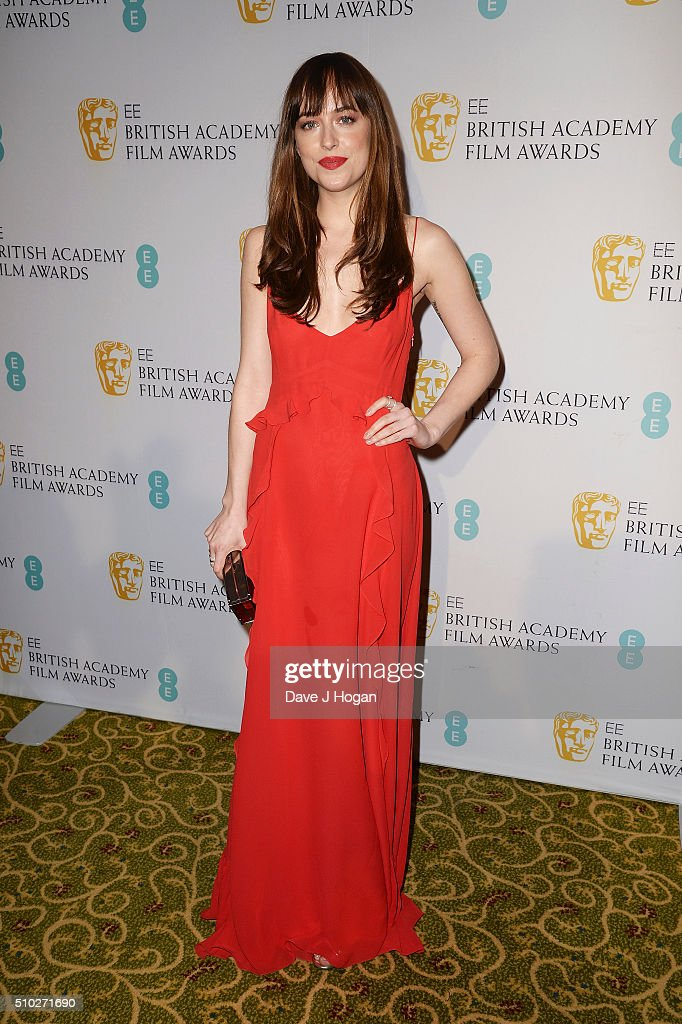 Dakota Johnson attends the official After Party Dinner for the EE British Academy Film Awards at The Grosvenor House Hotel on February 14, 2016 in London, England.