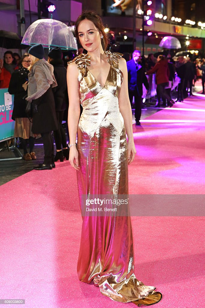 <a gi-track='captionPersonalityLinkClicked' href=/galleries/search?phrase=Dakota+Johnson&family=editorial&specificpeople=2091563 ng-click='$event.stopPropagation()'>Dakota Johnson</a> attends the UK Premiere of 'How To Be Single' at Vue West End on February 9, 2016 in London, England.