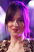 Dakota Johnson attends the UK Premiere of 'How To Be Single' at Vue West End on February 9 2016 in London England