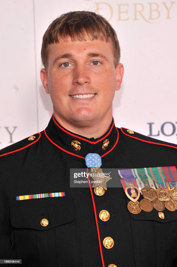 <a gi-track='captionPersonalityLinkClicked' href=/galleries/search?phrase=Dakota+Meyer&family=editorial&specificpeople=7618000 ng-click='$event.stopPropagation()'>Dakota Meyer</a> attends the 139th Kentucky Derby at Churchill Downs on May 4, 2013 in Louisville, Kentucky.