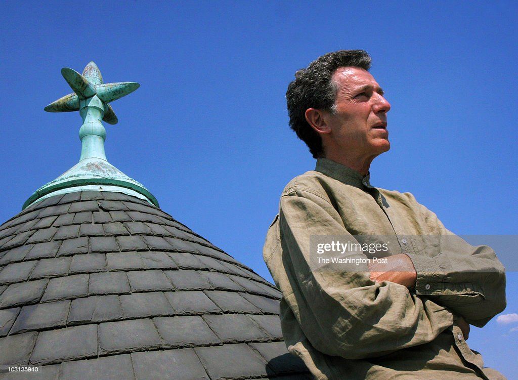 LEARY / TWP WASHINGTON, DC. Dal LaMagna, who made a fortune making and selling tweezers, has now put his mind towards changing the world, and has just completed a documentary, called 'War Tapes'. Pictured, Dal LaMagna(cq) on the rooftop of his home in NW Washington.