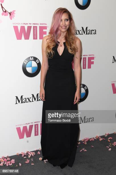 Dalal Bruchmann attends the Women In Film 2017 Crystal Lucy Awards Presented By Max Mara And BMW at The Beverly Hilton Hotel on June 13 2017 in...