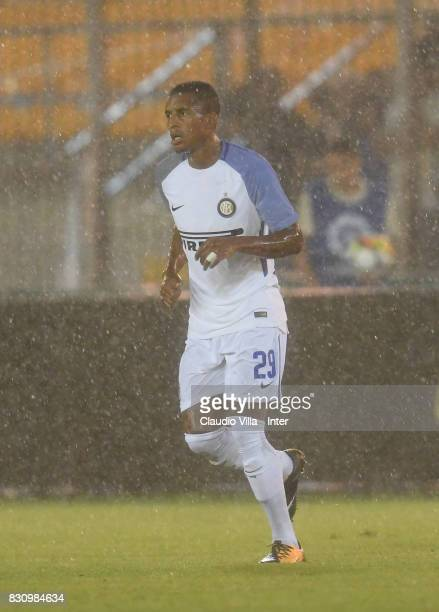 Dalbert Henrique Chagas Estevão of FC Internazionale in action during the PreSeason Friendly match between FC Internazionale and Real Betis at Stadio...