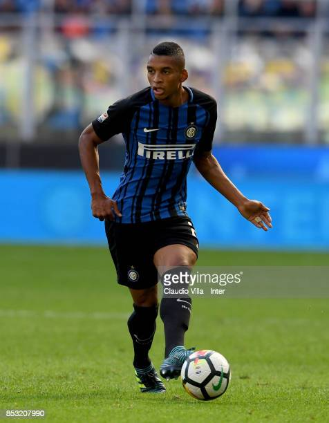 Dalbert Henrique Chagas Estevão of FC Internazionale in action during the Serie A match between FC Internazionale and Genoa CFC at Stadio Giuseppe...