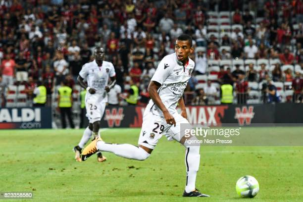 Dalbert Henrique of Nice during the UEFA Champions League Qualifying match between Nice and Ajax Amsterdam at Allianz Riviera Stadium on July 26 2017...