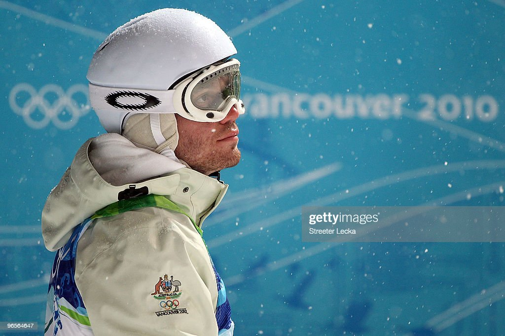 <a gi-track='captionPersonalityLinkClicked' href=/galleries/search?phrase=Dale+Begg-Smith&family=editorial&specificpeople=725004 ng-click='$event.stopPropagation()'>Dale Begg-Smith</a> of Australia looks back towards the Freestyle skiing moguls course at Cypress Mountain ahead of the Vancouver 2010 Winter Olympics on February 10, 2010 in Vancouver, Canada.