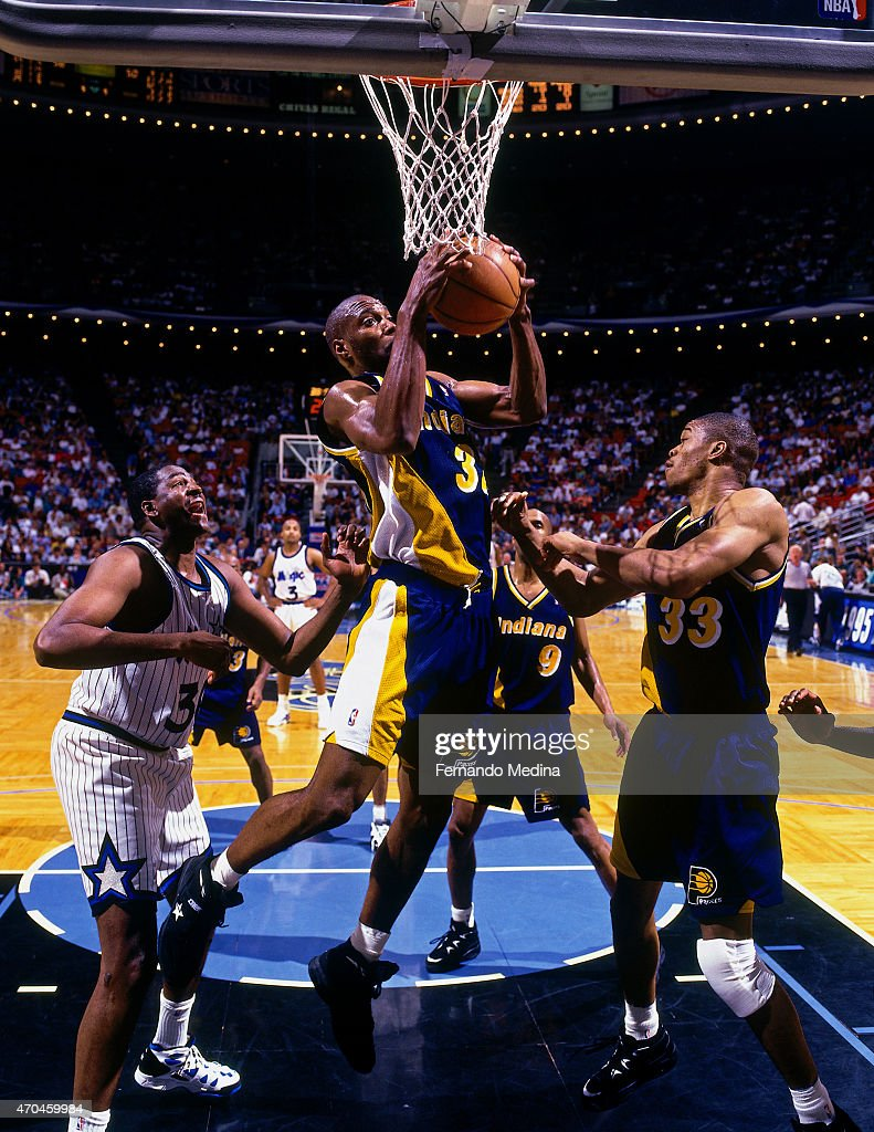 1995 Eastern Conference Finals Game Two Indiana Pacers v