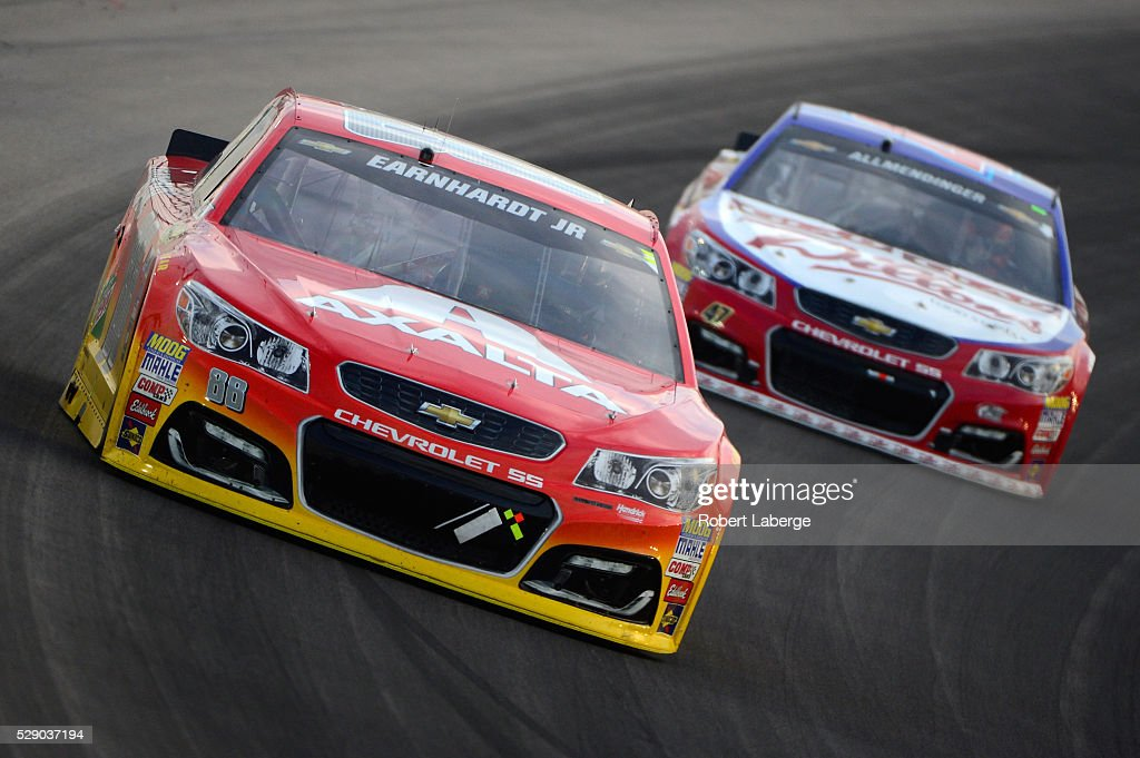 dale earnhardt jr driver of the 88 axalta chevrolet leads aj. Cars Review. Best American Auto & Cars Review