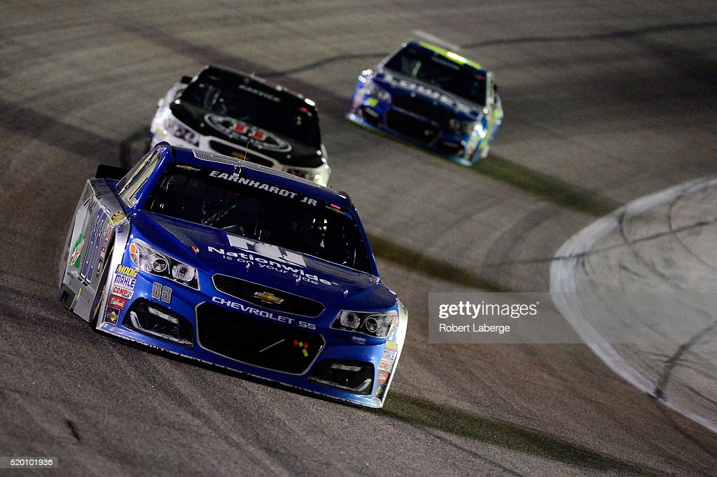 dale earnhardt jr driver of the 88 nationwide chevrolet leads a. Cars Review. Best American Auto & Cars Review