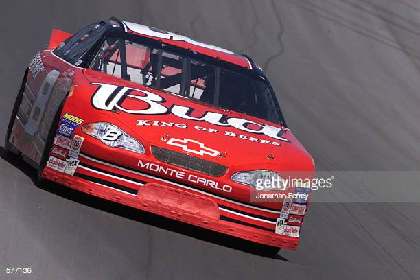 Dale Earnhardt Jr drives during the NASCAR Winston Cup Series Tropicana 400 at Chicagoland Speedway in Joilet Illinois DIGITAL IMAGE Mandatory Credit...