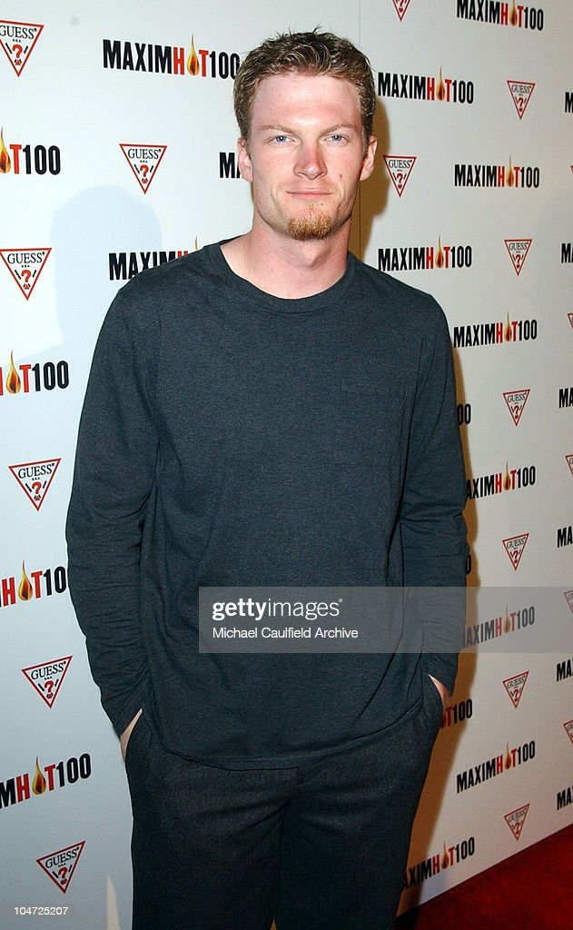 Dale Earnhardt Jr. during Maxim Hot 100 Party - Arrivals at Yamashiro in Hollywood, California, United States.