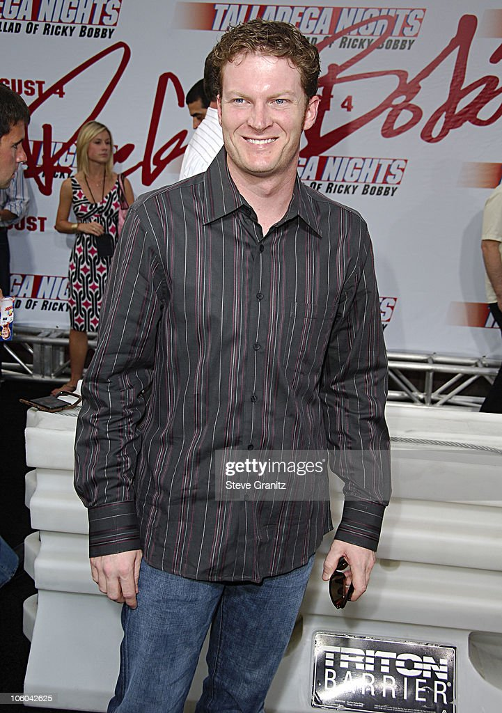 Dale Earnhardt Jr. during 'Talladega Nights: The Ballad of Ricky Bobby' Los Angeles Premiere - Arrivals at Grauman's Chinese Theatre in Hollywood, California, United States.
